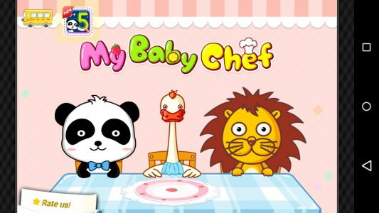 Baby Panda Chef - Educational Game for Kids