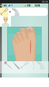 Foot Surgery Game
