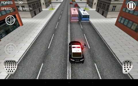 Police Car Racer 3D