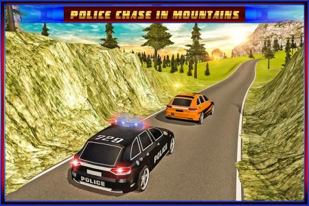San Andreas Police Hill Chase