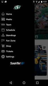 SaskTel Rider App