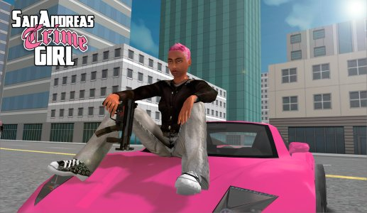 San Andreas Crime Girl