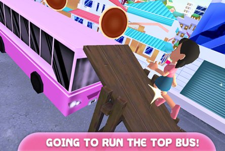 Girl Toon Anime Run 3D