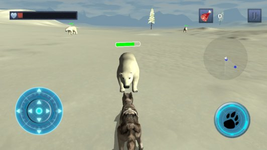 Snow Dog Survival Simulator