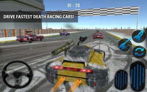 Snow Traffic Car Racing Rider