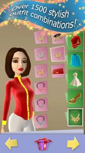Star Girl Dress up Game