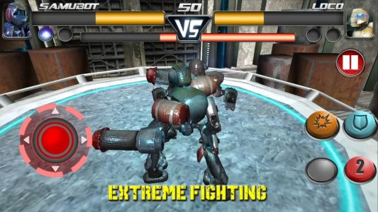 Steel Street Fighter ? Robot boxing game