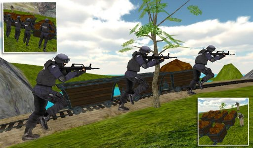 SWAT Team Counter Strike Force
