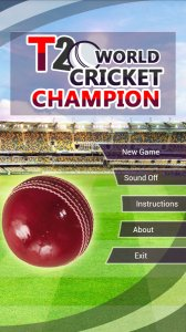 T20 WORLD CRICKET CHAMPIONS