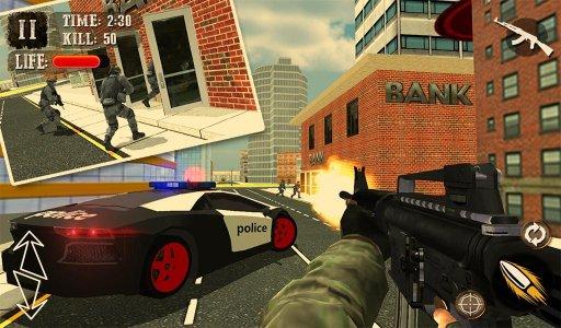 banka soygunu suç LA polisi