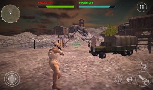 survivant commando tueur 3D