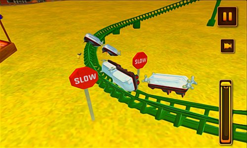 Crazy Roller Coaster Simulator
