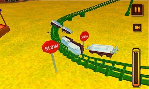 Crazy Roller Coaster Simulator