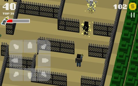 The Crossing Dead: Crossy Zombie Apocalypse Road