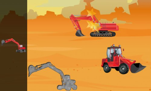 Digger Puzzles for Toddlers