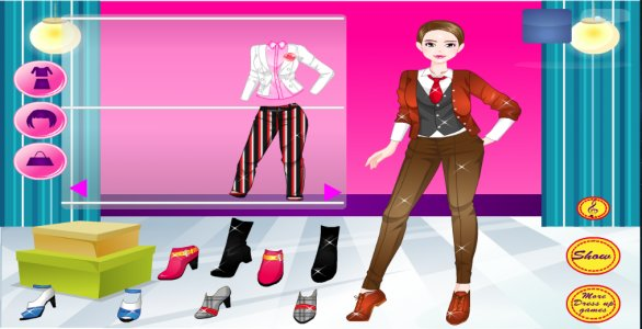 dress up for girl and makeover