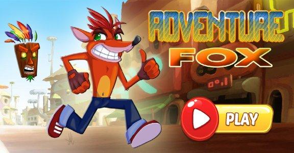 Fox Crash Adventure Android Game APK (bb advantarfoxer bmland dan