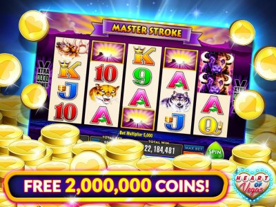 Heart Of Vegas Slots Free Slot Casino Games Android لعبة Apk