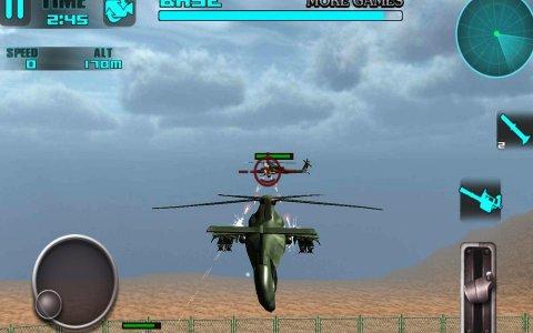 Bataille Heli: jeu 3D de vol
