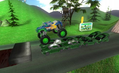 Big Monster Truck Racing 3D