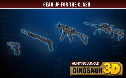 Hunting Jungle Dinosaur 3D