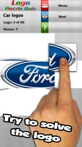 Cars: logo puzzle quiz