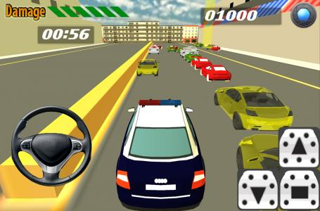 Police Car Parking Simulation