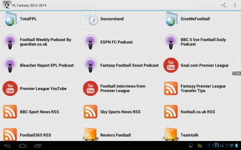 English Football Fantasy