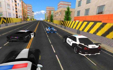 Police Car Racing 3D