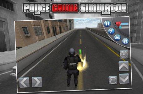 الشرطة الجريمة محاكي