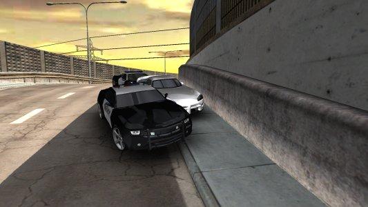 Police vs. Thief Car Pursuit