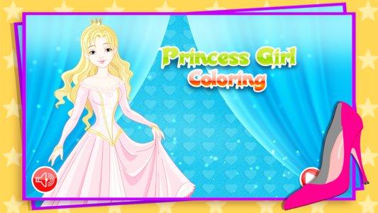 Prenses Boyama Android Oyunu Apk Com Hbg Coloring Princess Girl