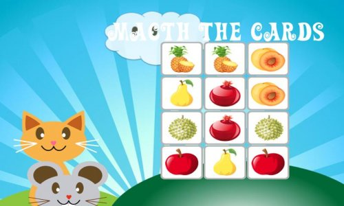QCat Learning Games : fruit ( free )