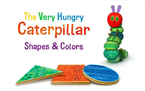 Caterpillar Shapes & Colors