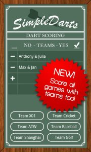 Simple Darts - Dart Scoring