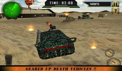 Army War Military Car Driving