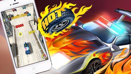Hot Tire Asphalt Burner Action