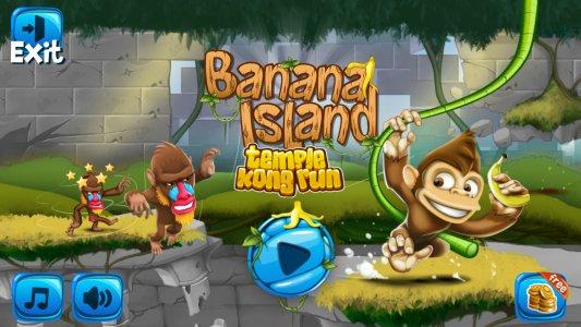 Banana Island: Temple Kong Run