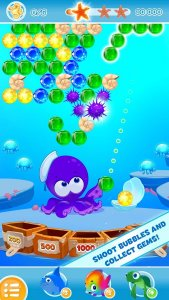 Bubble Sea Mystery