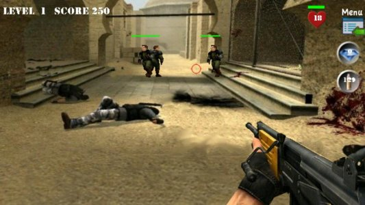 Commando Team Counter Strike