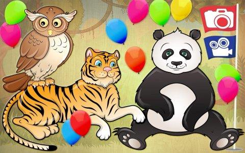 Free Kids Puzzle Game - Animal