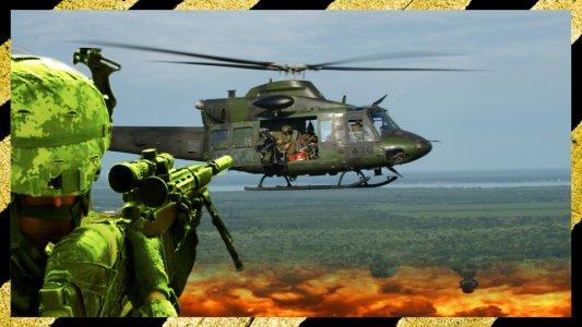 Gunship War: Helikopter 3D
