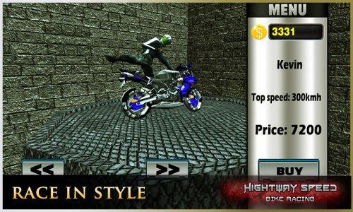 Highway Speed Motorbike Racer : Bike Racing Games