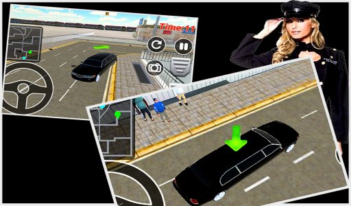 Limo Simulator 2016 City Drive