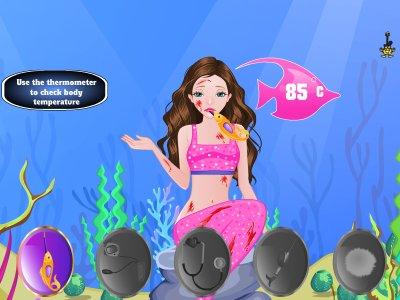 Mermaid At Doctor Games