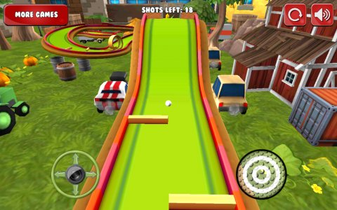 Mini Golf 3D Cartoon Farm