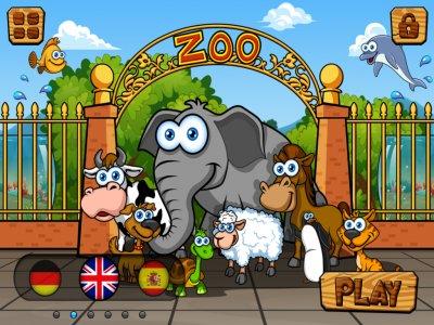 Preschool Zoo Animal Puzzles