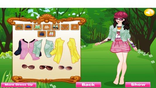 Princess Fashion Dress Up Game