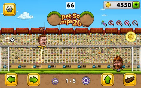 Puppet Soccer Football 2015