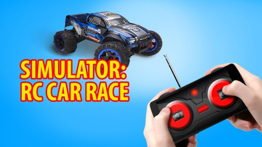 RC Car Race. Simulator
